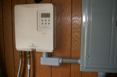 Electric Tankless Water Heater Install